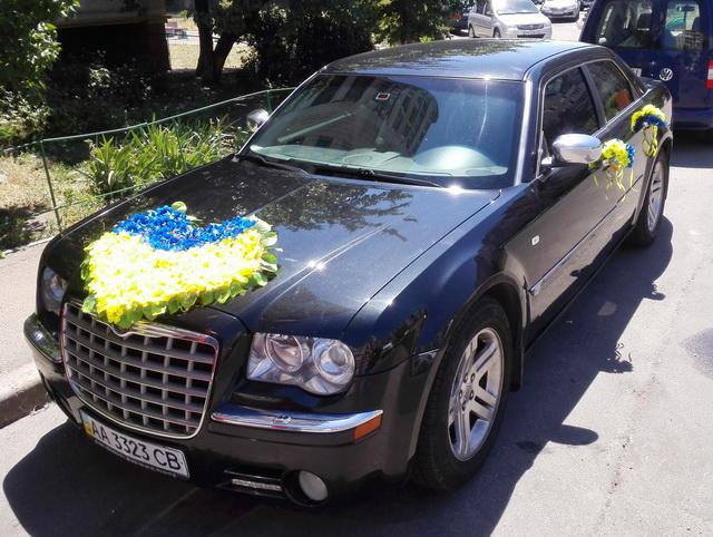 свадебные украшения на авто укр